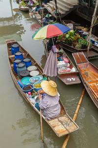 Woman Food Vendor, Thailand