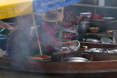 Women Food Vendors, Thailand