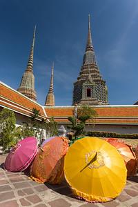 Sun Parasols at Wat Pho.