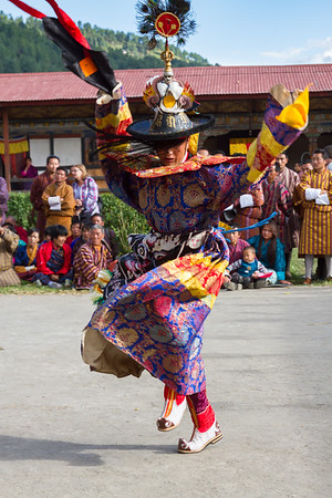 Black Hat Dance, Bhutan.