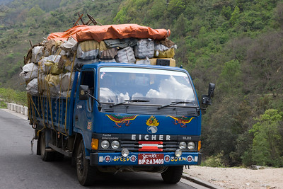 Transport Lorry, Bhutan.
