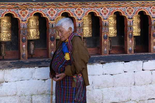 Prayers and Circumambulation, Bhutan.