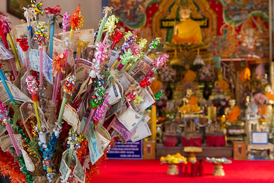 Money Offerings to Buddha