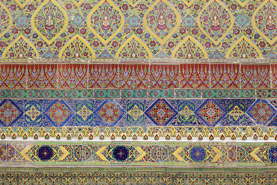 Ornate Wall Decor, Wat Arun