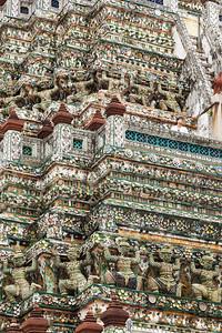 Visitor at Wat Arun