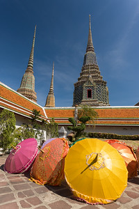 Sun Parasols at Wat Pho.