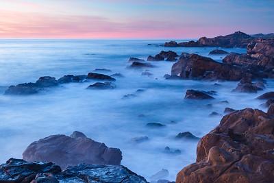 Twilight at Sea