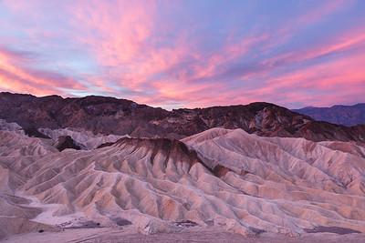 Sunrise, Death Valley.