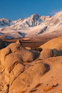 Dawn in Buttermilk Rocks