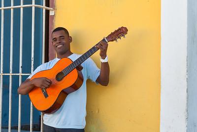 Happy Musician, Trinidad.