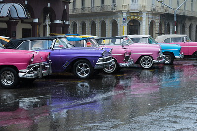 Rainy Day Reflections, Havana