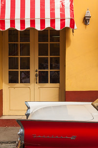 Car and Awning, Trinidad