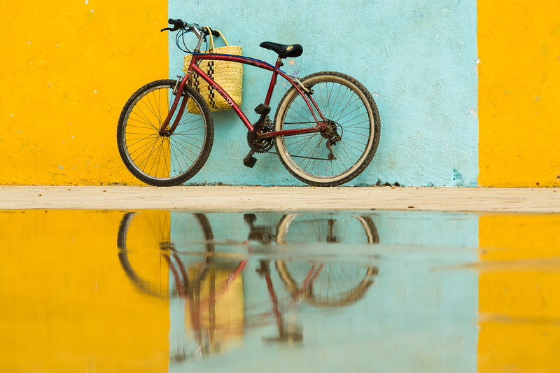 Bicycle and Reflection