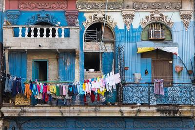 Laundry Day in Havana