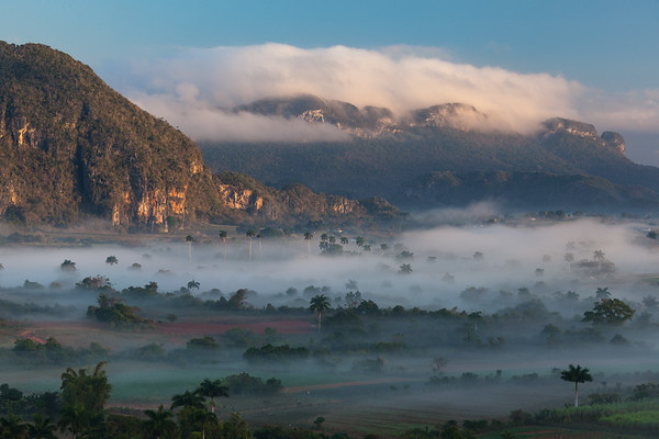 Dawn over Viñales