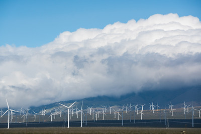 Clouds and Windmills