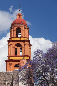 Bell tower of Templo de San Francisco.