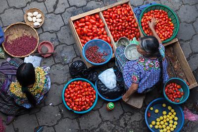 Tomatoes for sale, Chichicastenango.