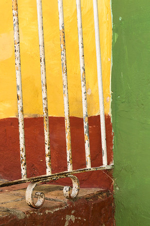 Colorful and Weathered, Trinidad.