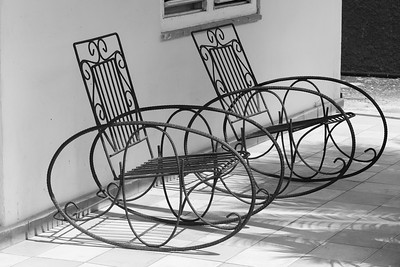 Wire Loop Chairs