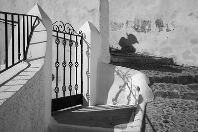 Shadow on Stairs, Greece.
