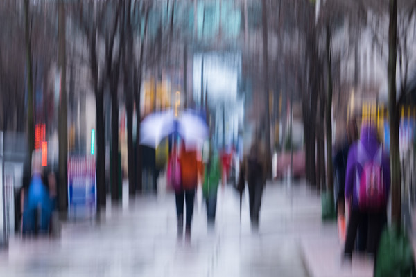 Impressions of a Rainy Day