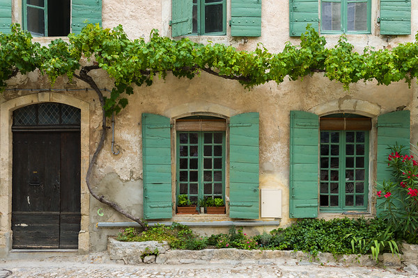 Picturesque House, France.