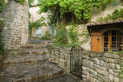 Intimate Village Scene, Provence.