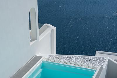 Architectural Graphics, Santorini.