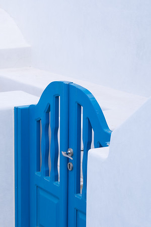 Blue Gate and White Walls, Santorini.