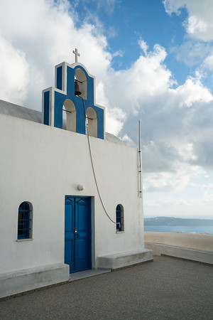 A Simple Chapel, Santorini.