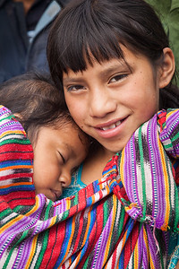 Sisters, Guatemala.