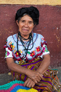 A pleasant face, Santiago de Atitlán.