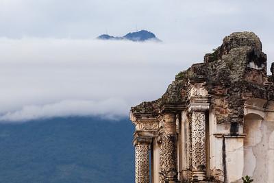El Carmen Church ruins, Guatemala.
