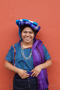 Portrait of Guatemala Weaver.