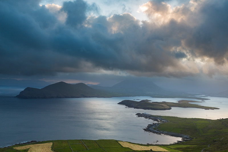 Morning over  Doulus Bay, Ireland.
