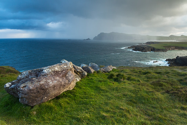 Coastal Landscape, Dingle Peninsula, western Ireland.