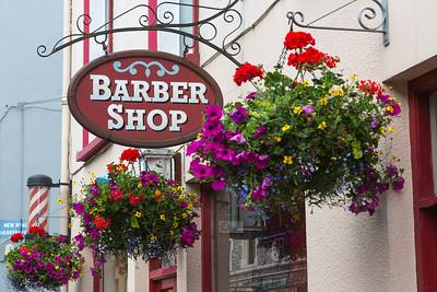 Barbershop, Kenmare, Ireland.