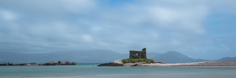 McCarthy Mór Castle, Ballinskelligs, Ireland.