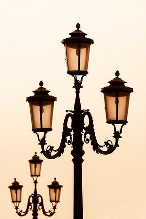 Lampost, Venice.