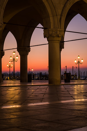 Dawn, St. Mark's Square.