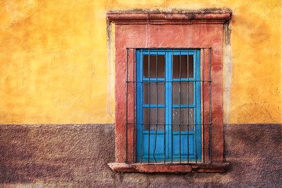 Window and Wall, Mexico.