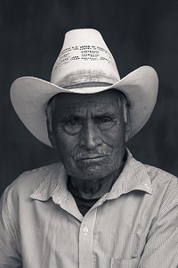 Portrait of a Mexican Man