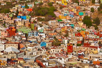 Guanajuato Village, Mexico.