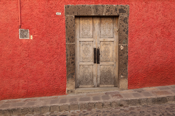 Old door, San Miguel de Allende.