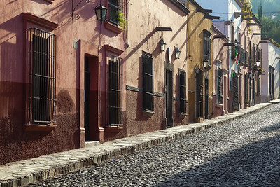 Quiet morning in San Miguel de Allende. Mexico.