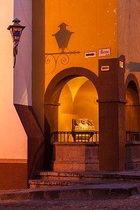 Shadows, arches and architecture, San Miguel de Allende.