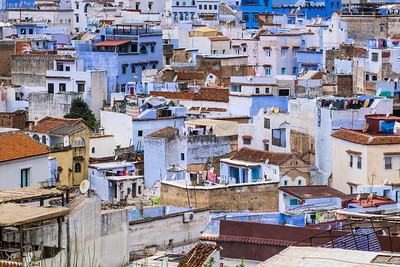 Over the Rooftops of Chefchaouen