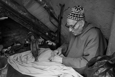 Tailor, Fes Medina, Morocco.