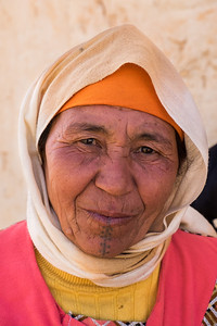 Berber Woman with Tattoo